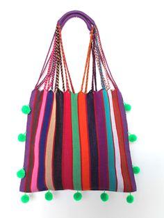 Un favorito personal de mi tienda Etsy https://www.etsy.com/mx/listing/484524563/mexican-handwoven-striped-bag-with