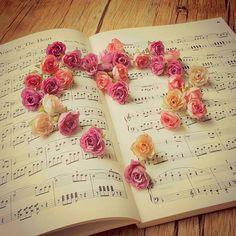 Lo mejor de la vida: música, flores y amor!!!!