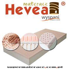 Materac Hevea Comfort Body Visco Lateks - lateksowo - termoelastyczny.