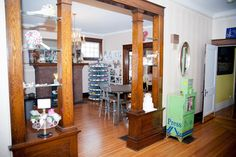 Studio and Foyer - eclectic - home office - other metro - Amy Clark Studios