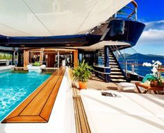 Day out on the yacht