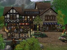 Medieval Market at SIMplicity • Sims 4 Updates