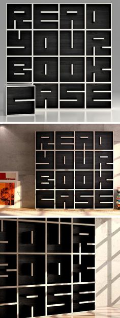 Like, I can just imagine. Books would look so cool in that shelf