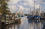 Bayou LaBatre Alabama Shrimp Boats
