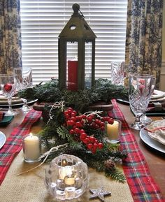 evergreen decor ideas | THE EVERGREEN PLAID DECOR IDEAS FOR THIS CHRISTMAS.... - Godfather ...