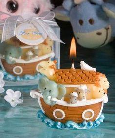 Recuerdo Arca De Noe Baby Shower O Bautizo Eex - $ 39.00 en MercadoLibre