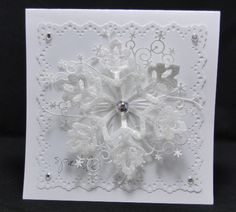 Sparkly Snowflake by jasonw1 - Cards and Paper Crafts at Splitcoaststampers