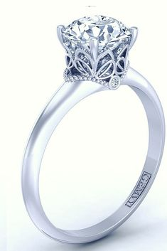 SOLITAIRE DIAMOND ENGAGEMENT RING 1469-3