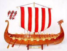 Model Ship - 60 Cm Hull Drakkar Model Viking Ship  (FREE SHIPPING)
