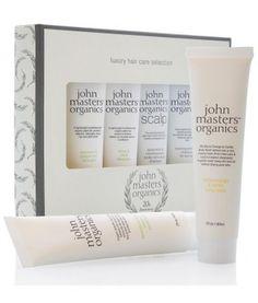 Luxury hair care selection es un pack muy especial con los productos estrellas de John Masters Organics. 6 productos 100% naturales, efectivos y saludables forman este cofre regalo. ¡Ideal pare regalar o darte un capricho natural!