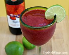 Frozen Sangria Recipe in Beverages, Chic and Crafty, Recipes