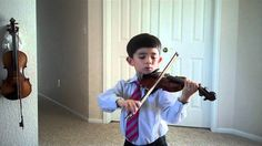 Suzuki Violin Book 1 Recital Part 4: Long Long Ago [Bayly]—See more of this young violinist #from_tequilayoung
