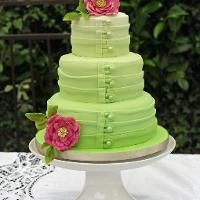 Fashion Inspired Ombre Cake