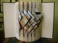Folded book design by Exploded Library