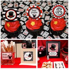 Magic Party Birthday - Magic Printable Party Collection by Amanda's Parties To Go. $19.00, via Etsy.