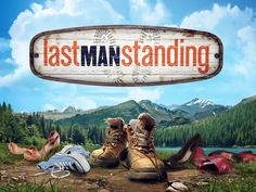 Last Man Standing.loved this show last season, with Tim Allen. Last Man Standing Game, Movies Showing, Movies And Tv Shows, Funny Sitcoms, Outdoor Men, Thing 1, Great Tv Shows, Music Tv, Great Movies