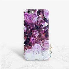 Amethyst crystal Phone Case SE iPhone 5 5s 5c phone by CaseOcean