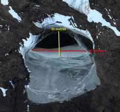 Very unusual holes/openings/entrances found in Antartica, page 1