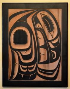 NOTE: Consider adding local art like these Carvings from the Spirit Gallery : Horseshoe Bay, West Vancouver Arte Haida, Haida Art, American Indian Art, Native American Art, Sketch Manga, Art Tribal, Atelier D Art, Raven Art, Inuit Art