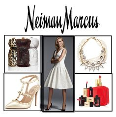 """""""The Holiday Wish List With Neiman Marcus: Contest Entry"""" by princess-erika15 ❤ liked on Polyvore featuring Neiman Marcus, Carmen Marc Valvo, Yves Saint Laurent, Valentino, Lulu Frost, women's clothing, women's fashion, women, female and woman"""