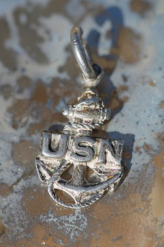 Vintage Sterling Silver U. Go Navy, Navy Mom, Thank You Veteran, Airforce Wife, Navy Chief, Navy Girlfriend, Navy Anchor, Navy Sailor, United States Navy