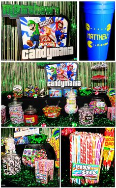 Candy buffet-have the kids take home their favorite candies in a souvenir cup