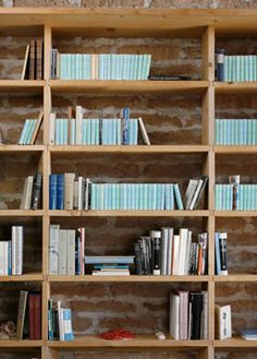 Loebs faded nearly to blue in the artist Donald Judd's library in Marfa, Texas. (http://www.hup.harvard.edu/loeb)