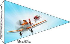 Aviões da Disney (Planes) - Mini Kit com molduras para convites, rótulos para guloseimas, lembrancinhas e imagens.