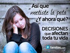 ¿Sientes que has tomado malas decisiones en tu vida y que la arruinaste? El tomar una mala decisión no te convierte en un fracaso, ni mucho menos en u...