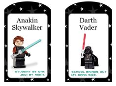 StarWars Free Printable Tags & Stickers