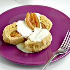 veganfoody:  Plum DumplingsA traditional Czech recipe made...