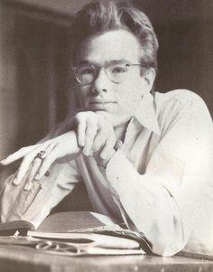 A young dashing Andy Warhol (1928-1987)