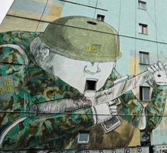 Street Art // Blu in Warsaw street art 000