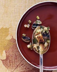 Mushroom Stuffing, Recipe from Everyday Food, November 2004