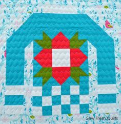 detail, Ugly Christmas Sweaters quilt at Sew Fresh Quilts : First Finishes of 2016
