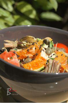 INSALATA DI CARCIOFI E ARANCE   cuoca nella brianza