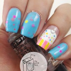 Cupcake Nails 3