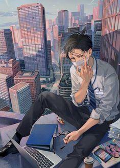 Boy chicas anime, anime boys, anime garçons, hot anime boy, manga b Anime Boys, Manga Anime, Anime Naruto, Hot Anime Boy, Cute Anime Guys, Chibi, Anime Angel, Anime Kunst, Anime People