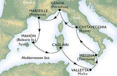 Discount Cruises, Last-Minute Cruises, Short Notice Cruises - Vacations To Go All Inclusive Cruises, Msc Cruises, Cruise Europe, Cruise Vacation, Vacation Ideas, Provence, Rome, Discount Cruises, Best Cruise Deals