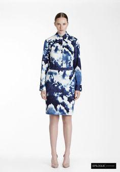 1 Epilogue by Eva Emanuelsen SS14 cloud shirt cloud skirt