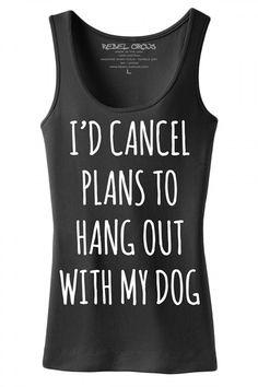 Women's My Dog Tank Top