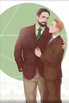 Haddock and Tintin fanart // wow. this is gorgeous.