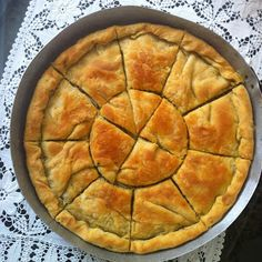 Cypriot Food, Vegetarian Recipes, Cooking Recipes, Savory Pastry, Cheese Pies, Middle Eastern Recipes, Dessert Recipes, Desserts, Greek Recipes
