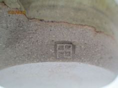 Fred Bramham, Kersey Pottery - FB mark