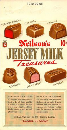 Neilson's Jersey Milk Treasures From the here it is! Why did they stop making this tasty chocolate bar? Well at least there's still jersey milk! Retro Candy, Vintage Candy, My Childhood Memories, Childhood Toys, School Memories, Sweet Memories, Nostalgic Candy, Old Candy, Chocolate Brands