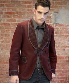 Vintage men's look. Luv it! Vintage Summer Outfits, Summer Outfits For Teens, Vintage Men, Vintage Fashion, Vintage Clothing, Retro Men, Vintage Wool, Vintage Dress, Smoking Jacket