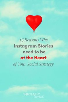 15 Reasons Why Instagram Stories Need to be at the Heart of Your Social Strategy #InstagramStories #Instagram #InstagramMarketing Affiliate Marketing, Content Marketing, Social Media Marketing, Digital Marketing, Online Marketing, Instagram Marketing Tips, Marketing Strategies, Instagram Story, Pinterest Marketing