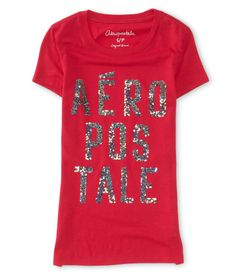 Stacked Logo Graphic T - Aeropostale