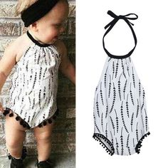 Cotton Baby Bodysuit Cool Spring Summer Kids Toddlers Sleeveless Jumpsuit Bodysuit for 0-18Month Baby Clothing