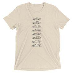 M5 Evolution Minimal Line Art T-shirt